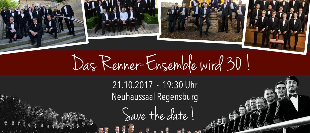 Permalink auf:SAVE THE DATE! Das Jubliläumskonzert zum 30. Geburtstag im Regensburger Neuhaussaal!